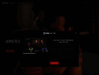 secure.showtimeanytime.com screenshot