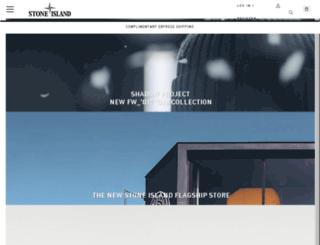 secure.stoneisland.com screenshot