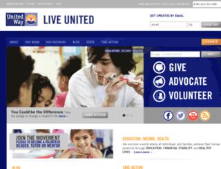 secure.unitedway.org screenshot