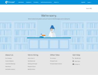 secure02.principal.com screenshot