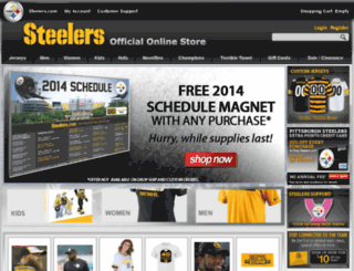 secure2.steelers.com screenshot
