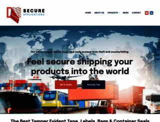secureapplications.net screenshot