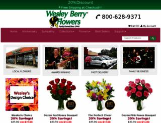secured2.wesleyberryflowers.com screenshot