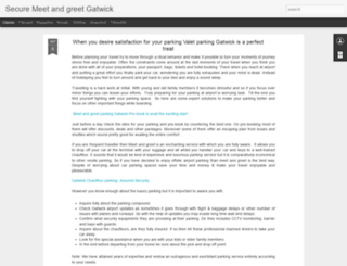 securemeetandgreetgatwick.blogspot.com screenshot