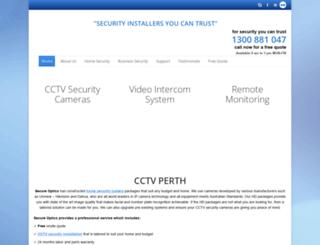 secureoptics.com.au screenshot