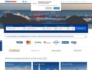 securesite.ticketonline.com.ar screenshot