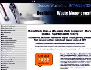 securewaste.net screenshot