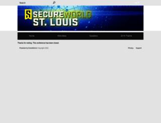 secureworldstlouis.zerista.com screenshot
