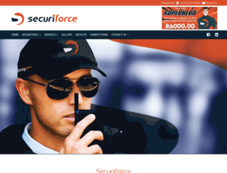 securiforce.co.za screenshot