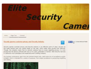 security-cameras.jimdo.com screenshot