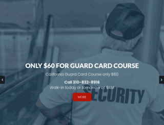 security-guard-training.net screenshot