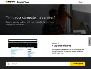 security.norton.com screenshot