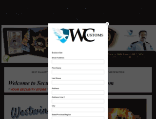 securitysuppliesaustralia.com screenshot