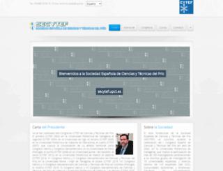 secytef.upct.es screenshot