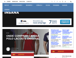 sedeinsana.com screenshot