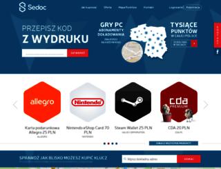 sedoc.pl screenshot