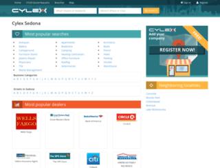 sedona.cylex-usa.com screenshot