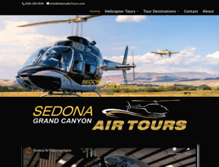 sedonaairtours.com screenshot