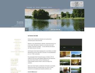 see-schloss-schoenhausen.de screenshot