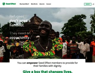 seedeffect.org screenshot
