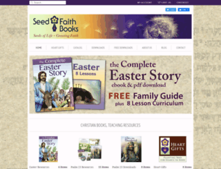 seedfaithbooks.com screenshot