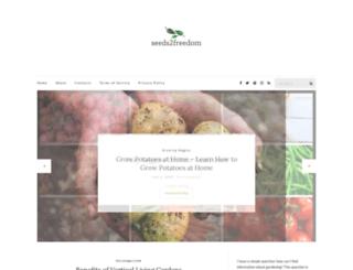 seeds2freedom.com.au screenshot