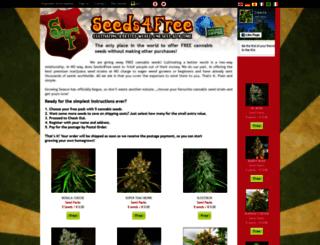 seeds4free.com screenshot
