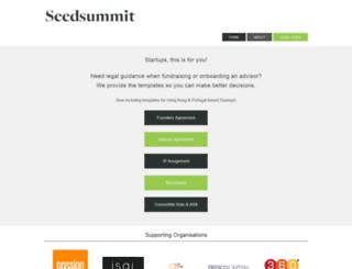 seedsummit.org screenshot