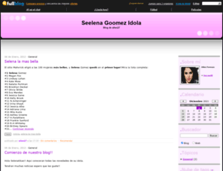 seelenagoomez.fullblog.com screenshot