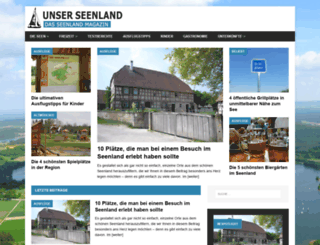 seenlandportal.de screenshot