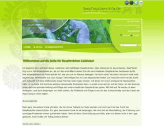 seepferdchen-info.de screenshot
