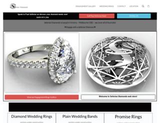 seferiandiamonds.com.au screenshot