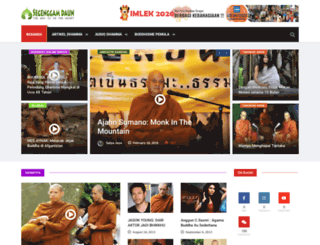 segenggamdaun.com screenshot