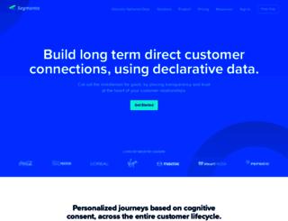 segmanta.com screenshot