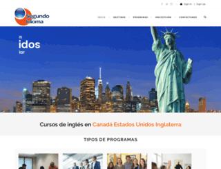 segundoidioma.com screenshot