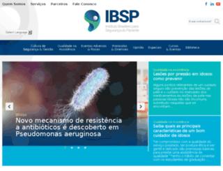 segurancadopaciente.com.br screenshot
