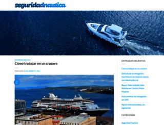 seguridadnautica.es screenshot