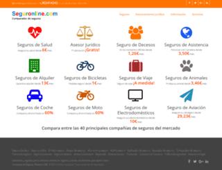 seguronline.com screenshot