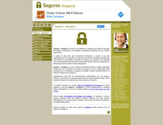 seguros-asegurar.es screenshot