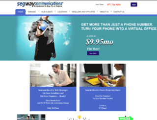 segwaycommunications.com screenshot