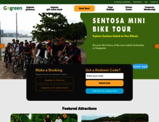 segwaytours.com.sg screenshot