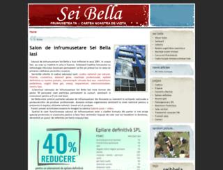 seibella.ro screenshot