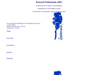 seidemannwein.com screenshot