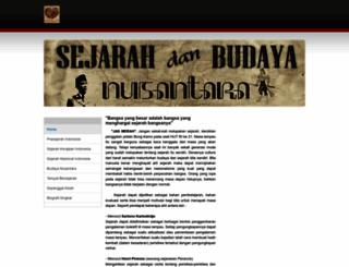 sejarahbudayanusantara.weebly.com screenshot