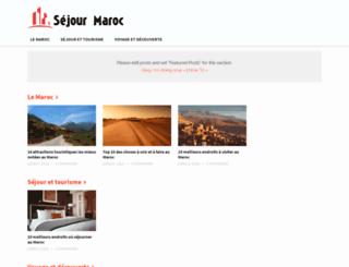 sejour-maroc.org screenshot