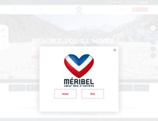 sejour-ski.meribel.net screenshot
