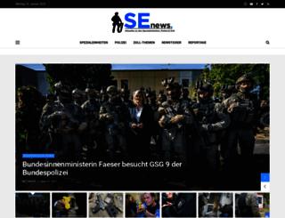 sek-einsatz.de screenshot