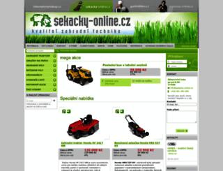 sekacky-online.cz screenshot