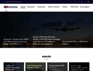 seknasfitra.org screenshot
