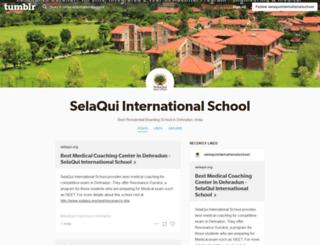 selaquiinternationalschool.tumblr.com screenshot